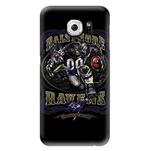 S6 Edge Case,NFL-Baltimore Ravens Samsung Galaxy S6 Hard Case,Fashion Samsung Cell Case
