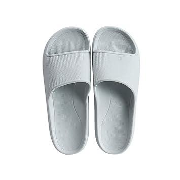 Chanclas Adulto AUGAUST Zapatillas de baño para Hombres Fácil de Limpiar, Antideslizante, Fondo elástico