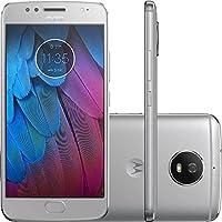 Smartphone Motorola Moto G5S 32GB Dual Chip Tela 5.2 Android 7.1 4G Câmera 16MP - Cinza