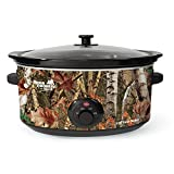 camo cooker - Nesco 8-Quart Oval Woodland Birch Camouflage Slow Cooker