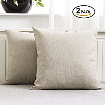 on garden pillow linen decorative throw washed ruffled sofa sham euro pillows com cushion covers from cover chair home item natural in aliexpress