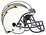 NFL San Diego Chargers Outdoor Small Helmet Graphic Decal