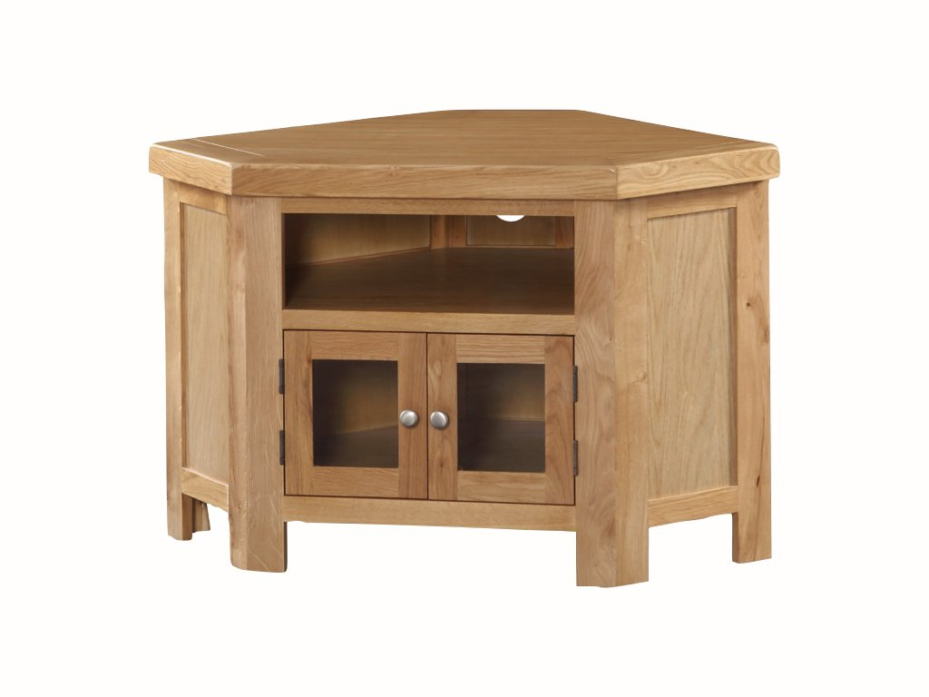 The One Newport - Mueble de Esquina para televisor de Roble ...