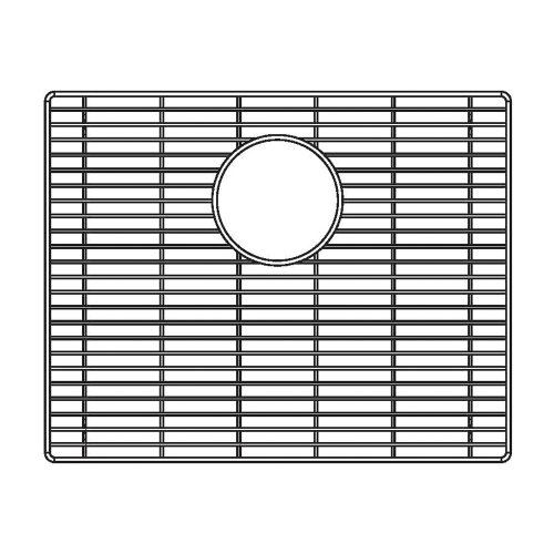 Price comparison product image Blanco 231175 Sink Grid for Attika 20-Inch Single Bowl Kitchen Sink,  Medium,  Stainless Steel