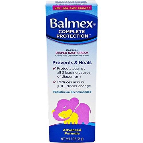 - Balmex Zinc Oxide Diaper Rash Cream 2 oz (Pack of 2)