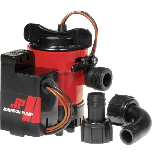 Johnson Pump Cartridge Combo Bilge Pump 1000GPH, 12V
