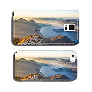 Autumn landscape in the Alps in golden evening light cell phone cover case Samsung S5