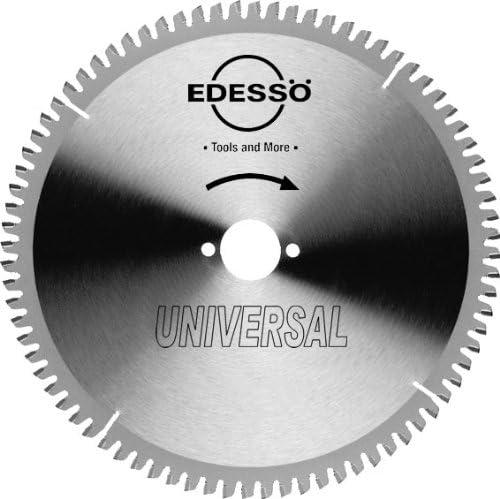 Edessö 18025030 HM-Kreissägeblatt Präzision-Universal 2/7/42 HW 250x3,2/2,6x30 Z=80 TF, Silber