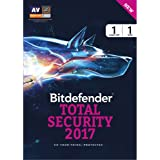 BitDefender Total Security 2017 Windows - 1 Device, 1 Year (CD)