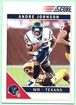 Andre Johnson 2011 Score Glossy  113 - Houston Texans at Amazon s ... d1d25a855