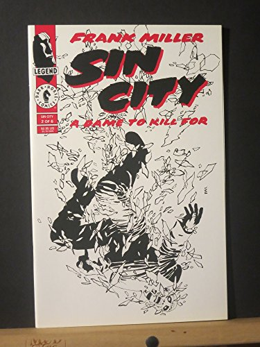 Sin City A Dame to Kill For #2 of 6 (Vol. 1) (A Dame To Kill For Graphic Novel)