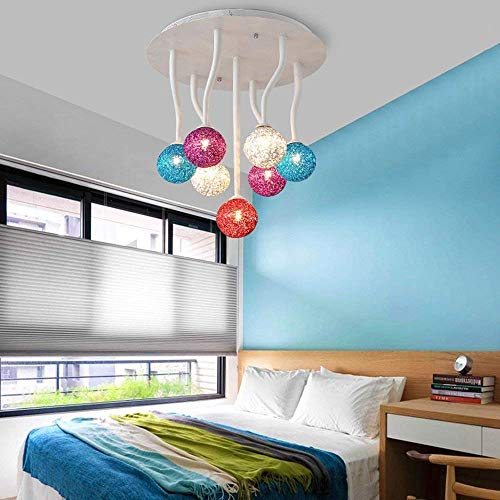 SED Ceiling Light Modern Hotel Restaurant Home Light Mount Flush Post-Simple Acrylic Lounge Lamp The Bedrooms The Lighting are in Three Can Be Obtained,7