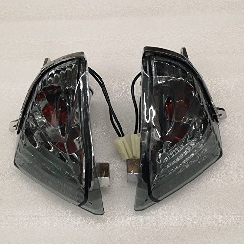 ZXMOTO Rear Turn Signal Indicator Light for Suzuki GSXR 600 GSXR 750 K6 (2006-2007)/GSXR 1000 K5 (2005-2006) Smoked - Gsxr 2006 750