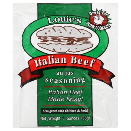 Louie's Italian Beef Seasoning, 3-ounce (Louie Italian Beef compare prices)