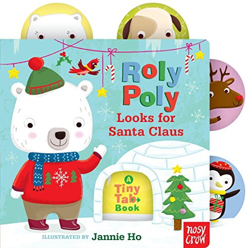 (Roly Poly Looks for Santa Claus: A Tiny Tab)