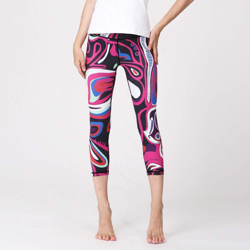YUYOGAP Frauen Yoga Sport Länge Hosen Mädchen Fitness Trainingshose Kompressionsstrumpfhose Yoga Sportswear Gym Kleidung