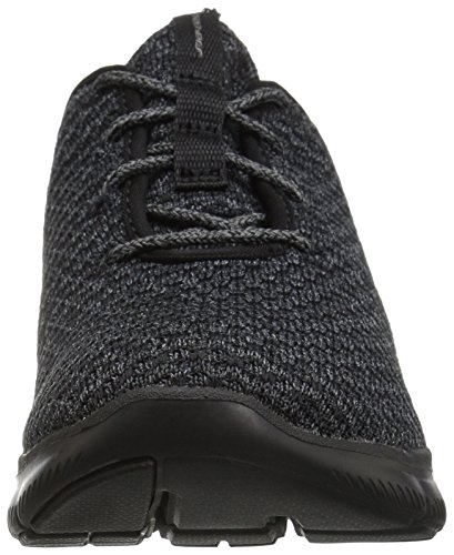 charcoal Appeal Move Flex black Noir Baskets bold 2 0 Femme Skechers Enfiler Un6xZPxq