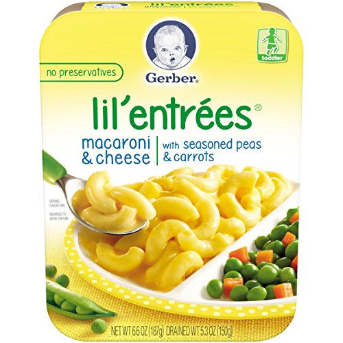 Gerber Graduates Lil' Entrees, Macaroni and Cheese, 6.6 oz by Gerber