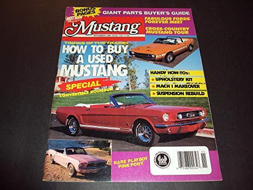 (Mustang Nov 1989 How-To Mach 1 Makeover, Suspension Rebuild, Convertible)
