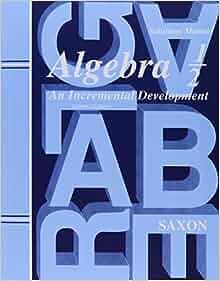 algebra 1 an incremental development 3rd edition pdf