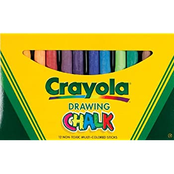 Crayola Non-toxic Chalkboard Chalk  (510403)