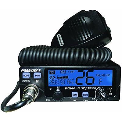 PRESIDENT Ronald 10/12 Meter Radio: Electronics