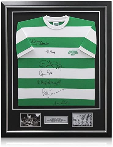 Firmado Camiseta Celtic Football