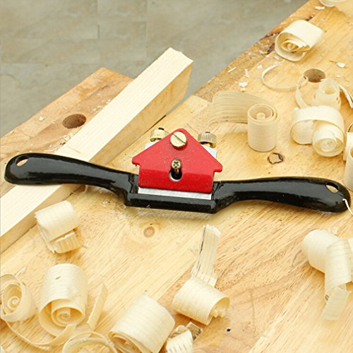 Dolland Adjustable SpokeShave with Flat Base for Wood Craft, Wood Craver, Wood Working and Hand Tool