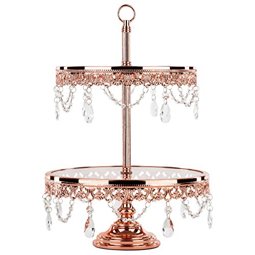 Amalfi Décor Rose Gold Plated 2 Tier