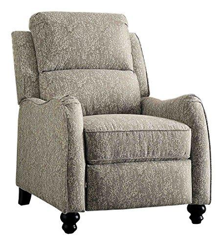 Homelegance Howth Push Back Recliner Chair, Gray ()