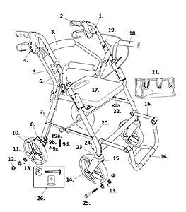 Amazon Com Replacement Parts For Models 795 Drive Duet