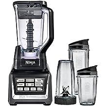 Nutri Ninja BL642 Blender 1500 watt with Auto-iQ XL 72 ounce W/Three Nutri Ninja cups (18oz, 24oz and 32oz) (Certified Refurbished)