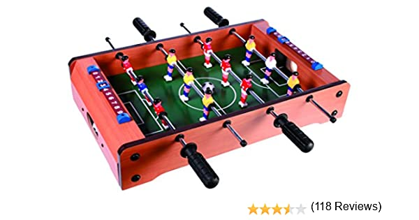 Sonstige-Futbolín de Madera, Kicker, Multicolor (63/3014): Amazon ...