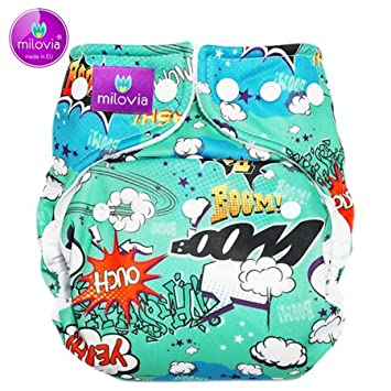 Shaggy in Love Milovia Coolmax Pocketwindel One Size 3,5-16 kg