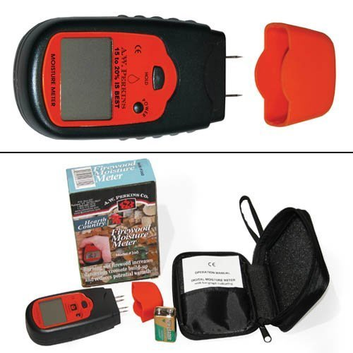 AW Perkins 360 Hearth Country Firewood Moisture Meter (Hearth Home Country &)
