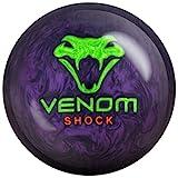 Motiv Venom Shock Pearl Bowling Ball Purple Pearl/Green/Orange, 12lbs