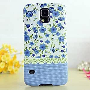 Mini - Glow in The Dark Country Style Flower Painting Case for Samsung Galaxy S5 I9600 ,Color: 7