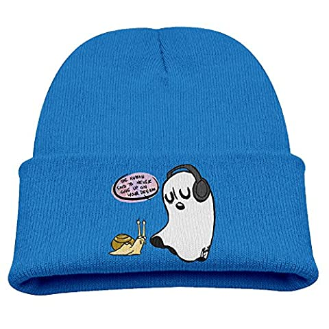 Babala Undertale Ghost Boys And Girls Knitted Beanie Cap Hat Winter Hats Solid Color Beanie (Of Mice And Men Robert Blake)