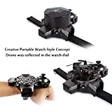 SainSmart Jr. Watch Drone for Kids, RC Quadcopter Remote Control Mini Kids Drone 2.4G 4CH 4 Axis, RC Drone for Christmas Gift (No Camera)