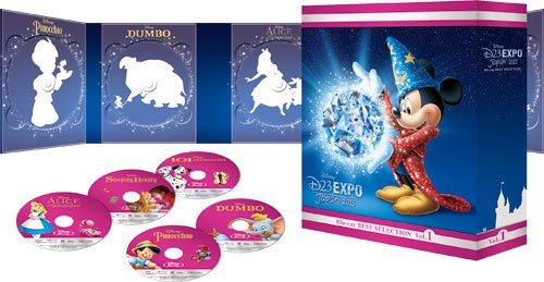 D23 Expo Japan 2015開催記念 ディズニー ブルーレイベストセレクション Vol.1 (期間限定) [Blu-ray] B014EO2ITI