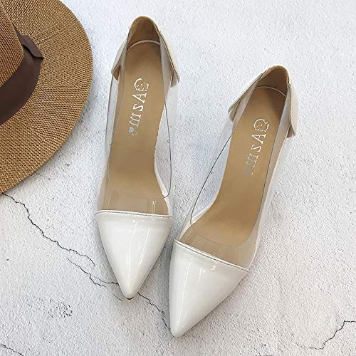 alti fata punta MLGSDW Sevenwhite Shoesthirty nuova selvaggia sandali profonda poco femminile sexy snelli tacchi HgHXwPxSq