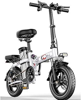 WYFDM Bicicleta Eléctrica Plegable Inteligente Bicicleta Eléctrica ...