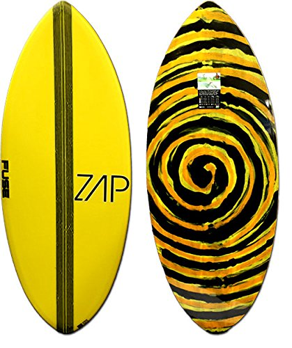 Zap Skimboards - Fuse 50'' / E-Glass & Carbon Fiber / Advanced Performance Skim Board / Exact Color & Design by East Coast Skimboards
