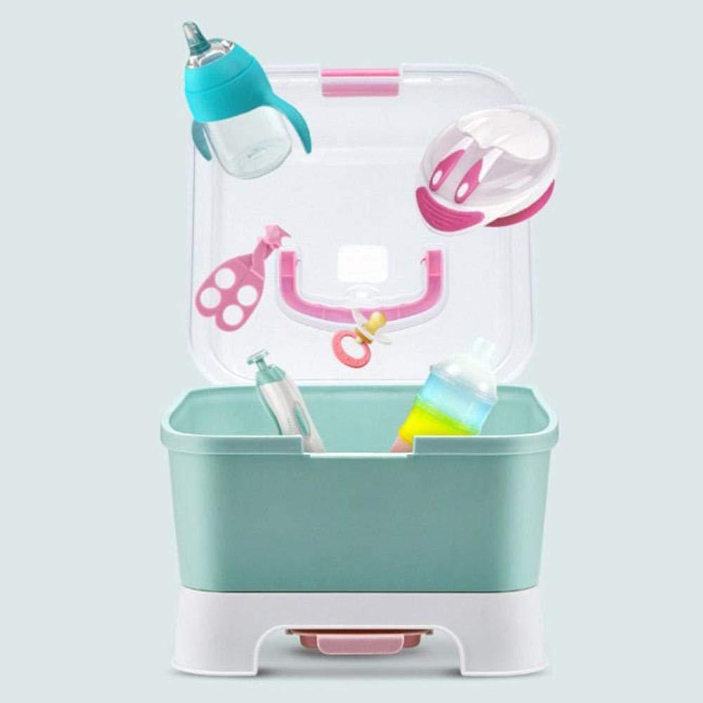 chifans Babygeschirr Organizer Babyflasche W/äschest/änder mit Anti-Staub-Abdeckung Gro/ße Babyflasche Aufbewahrungsbox