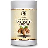 Shea boter 1000g geraffineerd, 100% puur natuurlijke lichaamsboter - rijk aan mineralen & vitamines voor intensieve…