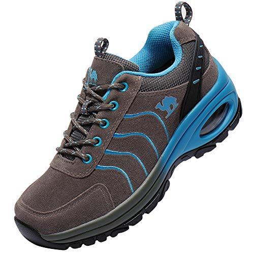 Shockproof Low Trail Leather Trekking Crown Shoes Trek Top Men Outdoor Sneaker Hiking Camel grey Sneakers Shoe Women Women Hike Aw6YB8nq