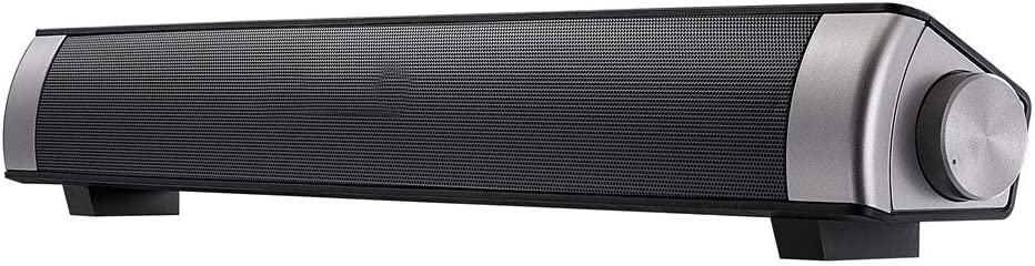Sound Bar (2018 Upgraded) for TV Watt Bluetooth Speakers Wired and Wireless Surround Stereo Audio(RCA.5 AUXBluetooth 4.1Remote Control)