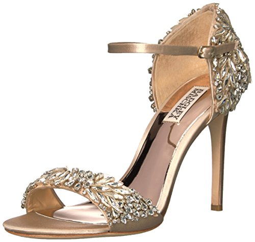 Badgley Mischka Women's Tampa Dress Sandal, Nude, 8.5 M US by Badgley Mischka