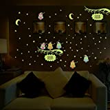LINFON Wall Decal Sticker Art Stickers Owl Night - Best Reviews Guide
