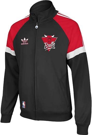 adidas Chicago Bulls Originals NBA Court Series Retro Track Jacket ...